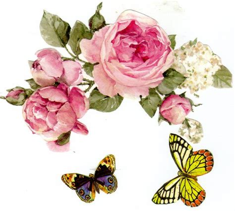 decoupage fiori carte decoupage da scaricare gratis colori per dipingere