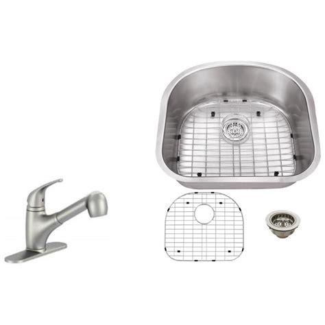 kitchen sink brush ipt sink company undermount 23 in 16 stainless 2596