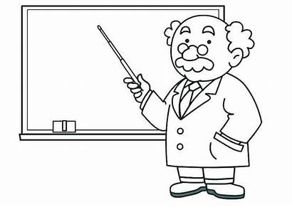 Teacher Coloring Pages Science Appreciation Week Printable