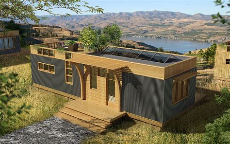 water heater shed greenpod prefab homes modernprefabs