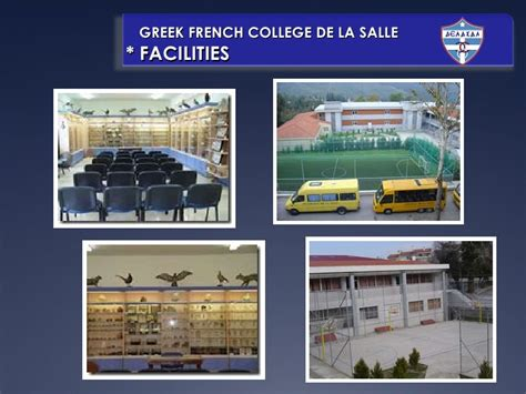 de la salle school presentation comenius greece