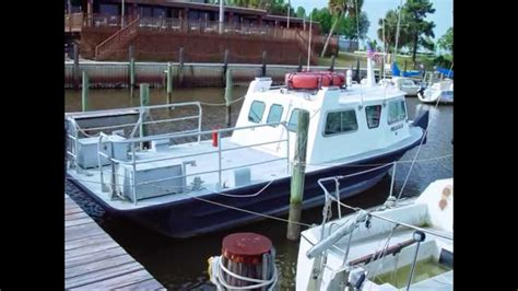 Boat Crews Usa by Passenger Crew Boat For Sale Monark Aluminum V Hull