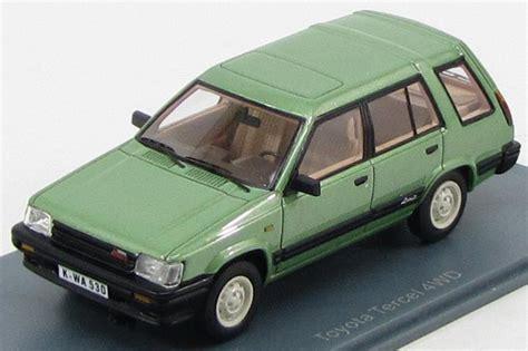 toyota 4wd models toyota tercel 4wd 1983 neo44530 1 43 neo scale models ebay