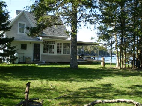cottages for in maine maine island beachfront cottage with vrbo