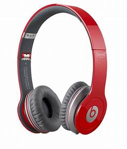 Buy Beats Solo HD Over Ear Headphones (Red) Without Mic ...