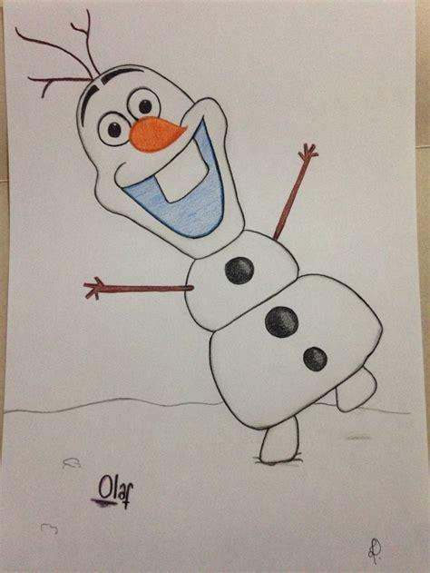 tentativa de desenho  mao livre  boneco de neve mais