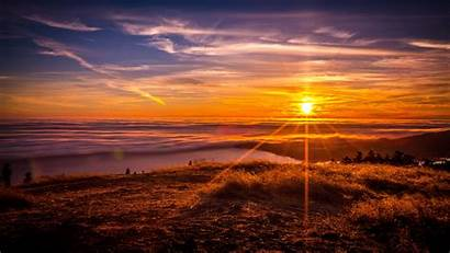 Sunrise Morning Sky Clouds Wallpapers 4k Nature