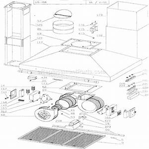 broan 637004 parts list and diagram ereplacementpartscom With motor replacement further broan motor repalcement parts and diagram