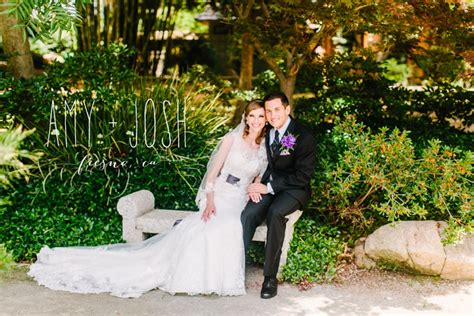 shinzen gardens woodward park wedding fresno ca amy josh
