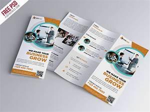 Trifold Brochure Template Free PSD | PSDFreebies.com