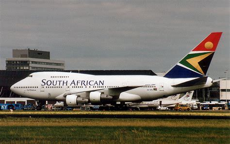 World Famous Air Crafts: South African Airlines