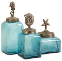 fashioned kitchen canisters turquoise blue sea canisters set of 3 style kitchen canisters and jars by