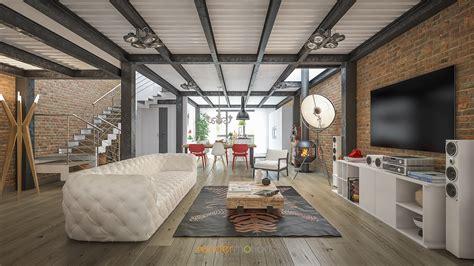 Render Interni Vray by Rendering Interni Loft Stupende Immagini Per Il Tuo