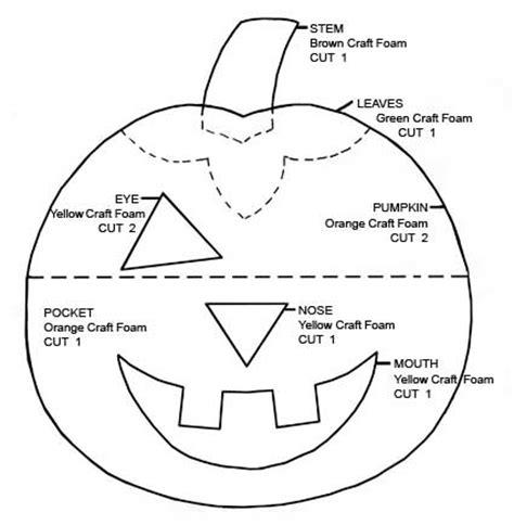 halloween pumpkin treat holder favecraftscom