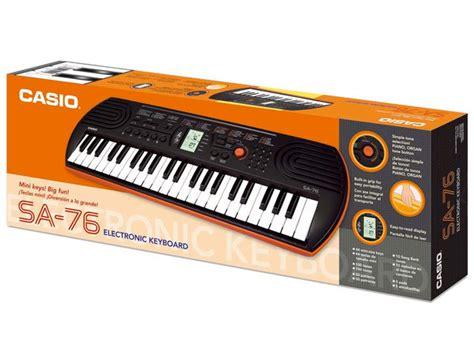Casio Sa76 by Casio Sa76 Strumenti Musicali Net