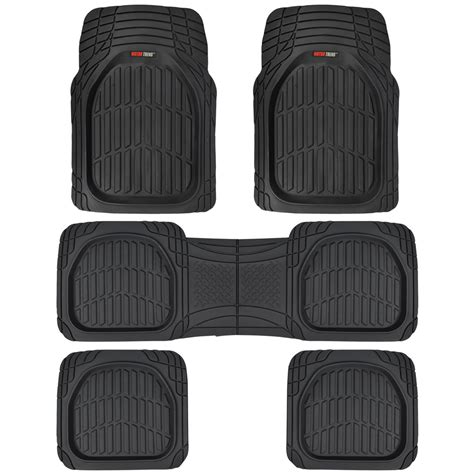 weather car mats 3 row rubber suv car floor mats dish all weather