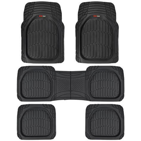 rubber car floor mats 3 row rubber suv car floor mats dish all weather