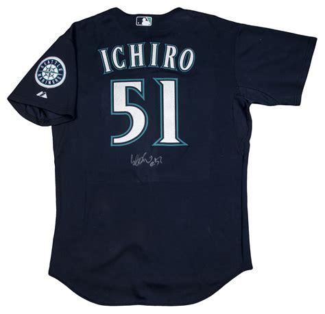 Ichiro Suzuki Number by Lot Detail 2009 Ichiro Suzuki Used And Signed