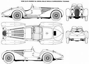 Alfa Romeo 8c 2900b 1938 Plans