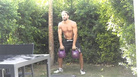 kettlebell body lower workout