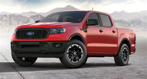 Ford has brought back the ranger name with a redesigned compact truck that combines modern elements with some primitive execution. 2021 Ford Ranger gets an STX package - ClubLexus - Lexus ...