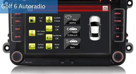 radio golf 6 golf 6 radio test und info die besten golf 6 radio