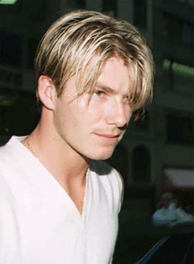 david beckham s best hairstyles the complete collection