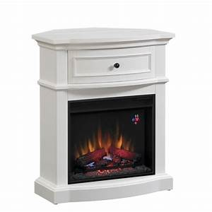 Classicflame, Dual, Mantel, In, White, Finish, -, Overstock, Shopping
