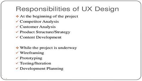 ux designer description ux description