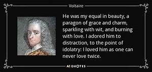 Voltaire quote:... Paragon Of Beauty Quotes