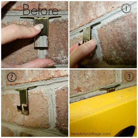 brick hangers hang it on brick a simple solution