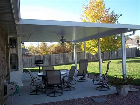 insulated patio covers patio covers springfield misosuri