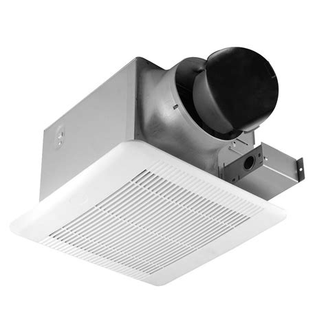 Home Depot Bathroom Exhaust Fan Heater by Hton Bay 110 Cfm Ceiling Bathroom Exhaust Fan Bpt18 34a