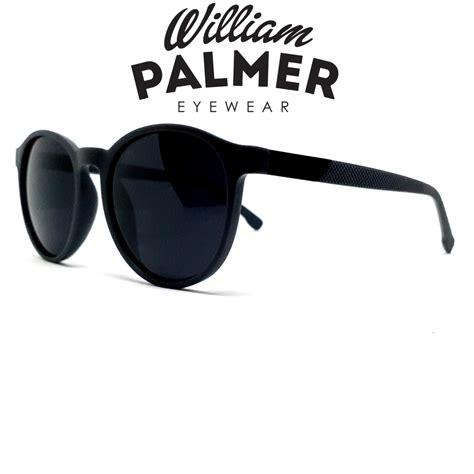 william palmer kacamata hitam pria wanita grey