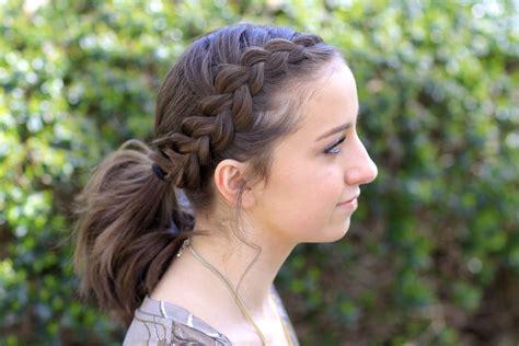 Dutch Accent Ponytail Short Hairstyles Cute Girls