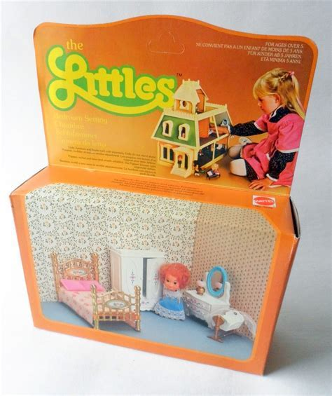 Vintage Toy Doll Boxed 1980 Mattel The Littles Flossie