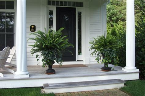 front porch plants cape cod renovation traditional entry boston by