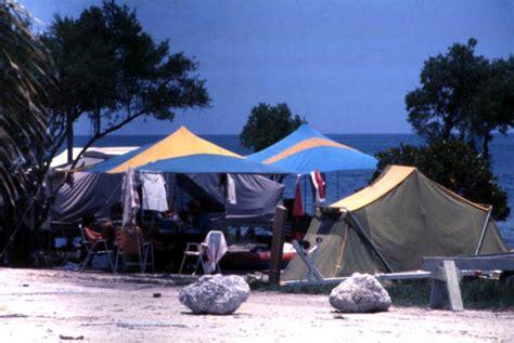 florida memory tents   john pennekamp coral reef
