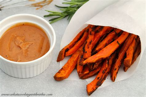 rosemary sweet potato fries cooking  ruthie