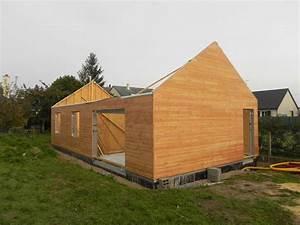 Maison bbc ossature bois ju0027ai dcid de vous montrer ce for Lovely type de toiture maison 17 maison toit plat et toiture terrasse bac acier ou siplast