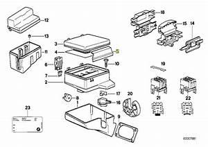 Bmw E34 E32 Fuse Box Cover Lid Clamp Clip Lock 1379502 61131379502