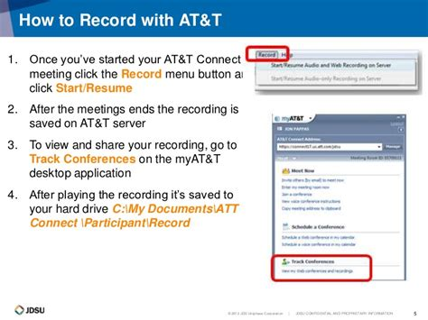 Recording With Lync And Att Connect