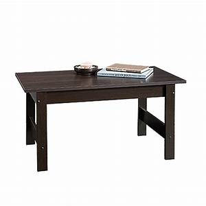 sauder beginnings cinnamon cherry stain resistant coffee With cherry color coffee table