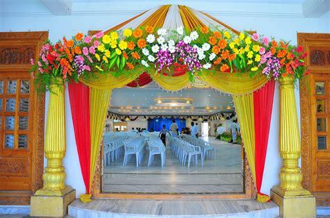 Fabulous Home Entrance Design Ideas For Wedding Decoration