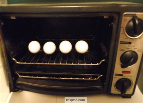 cook eggs in toaster oven boiled eggs baked in the oven just my experience