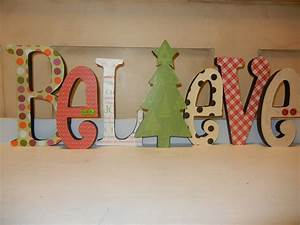 1000 images about wooden letter ideas on pinterest With wooden letters for christmas tree