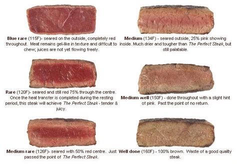 steak temperatures well done steak doesn t even really qualify as food ign boards