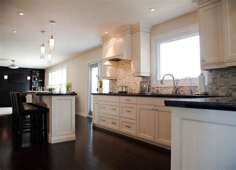 White Kitchen Cupboards With Black Countertops by Room By Room Inspiration Series The Kitchen Black