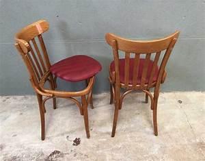 Chaise Bistrot Vintage : ensemble 8 chaises bistrot style baumann ~ Teatrodelosmanantiales.com Idées de Décoration