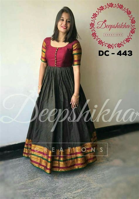 image result  pattu long frocks indian gowns dresses